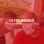 Des masques pour le FFC